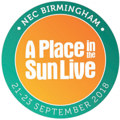 A Place in the Sun Live - NEC Birmingham 21-23 Sept 2018