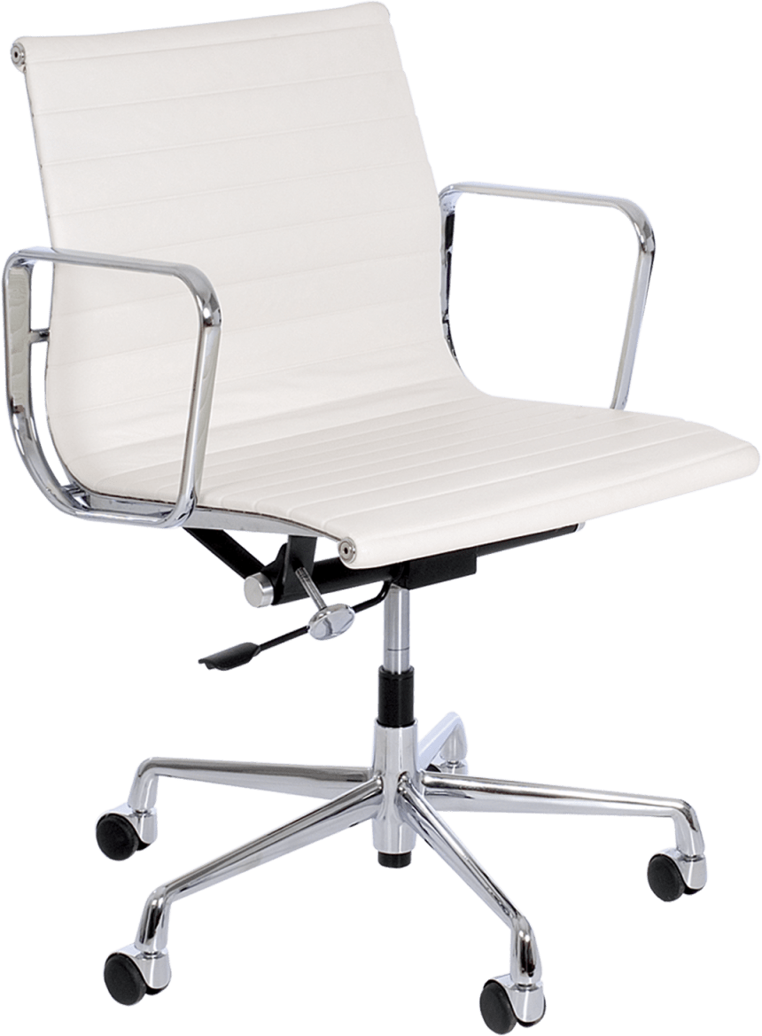Chair With Wheels >> Eames Swivel Chair With Wheels Chairs Dzine Furnishing
