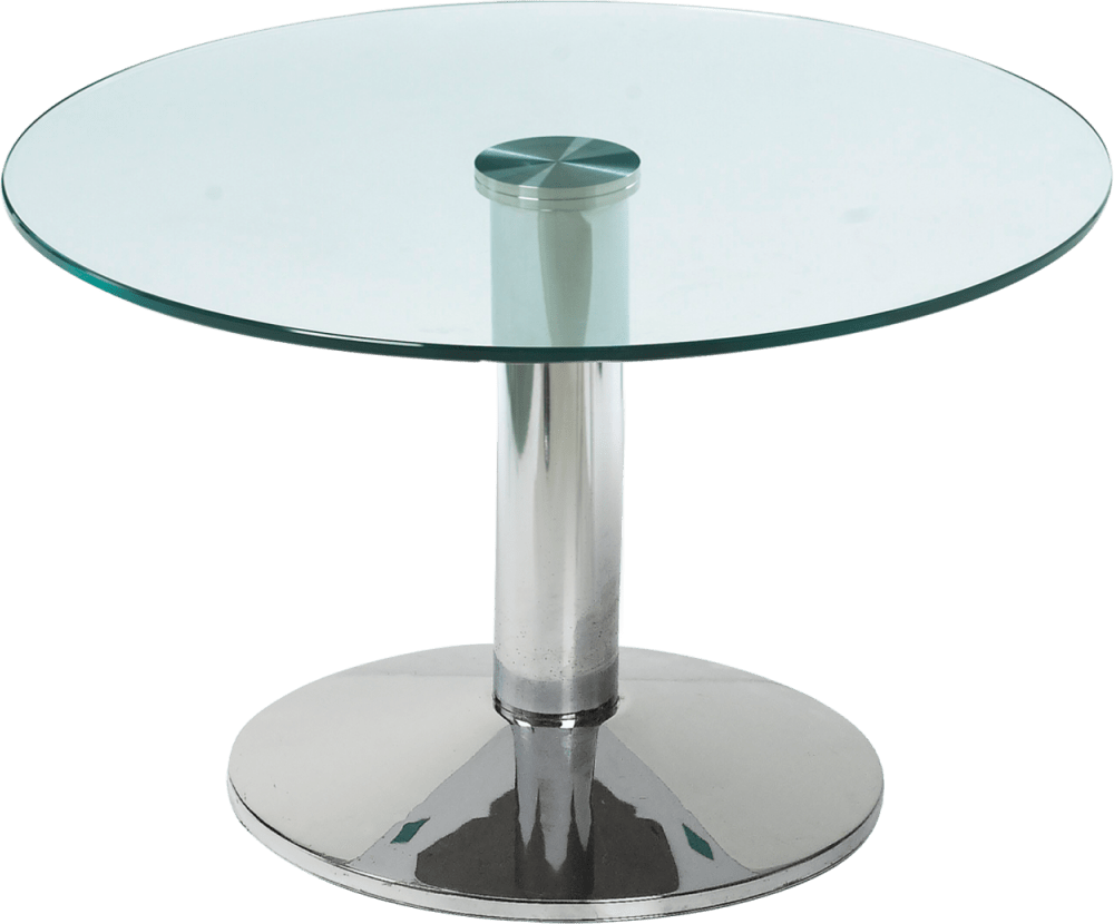 Milan Coffee Table Glass Top Hire for Events