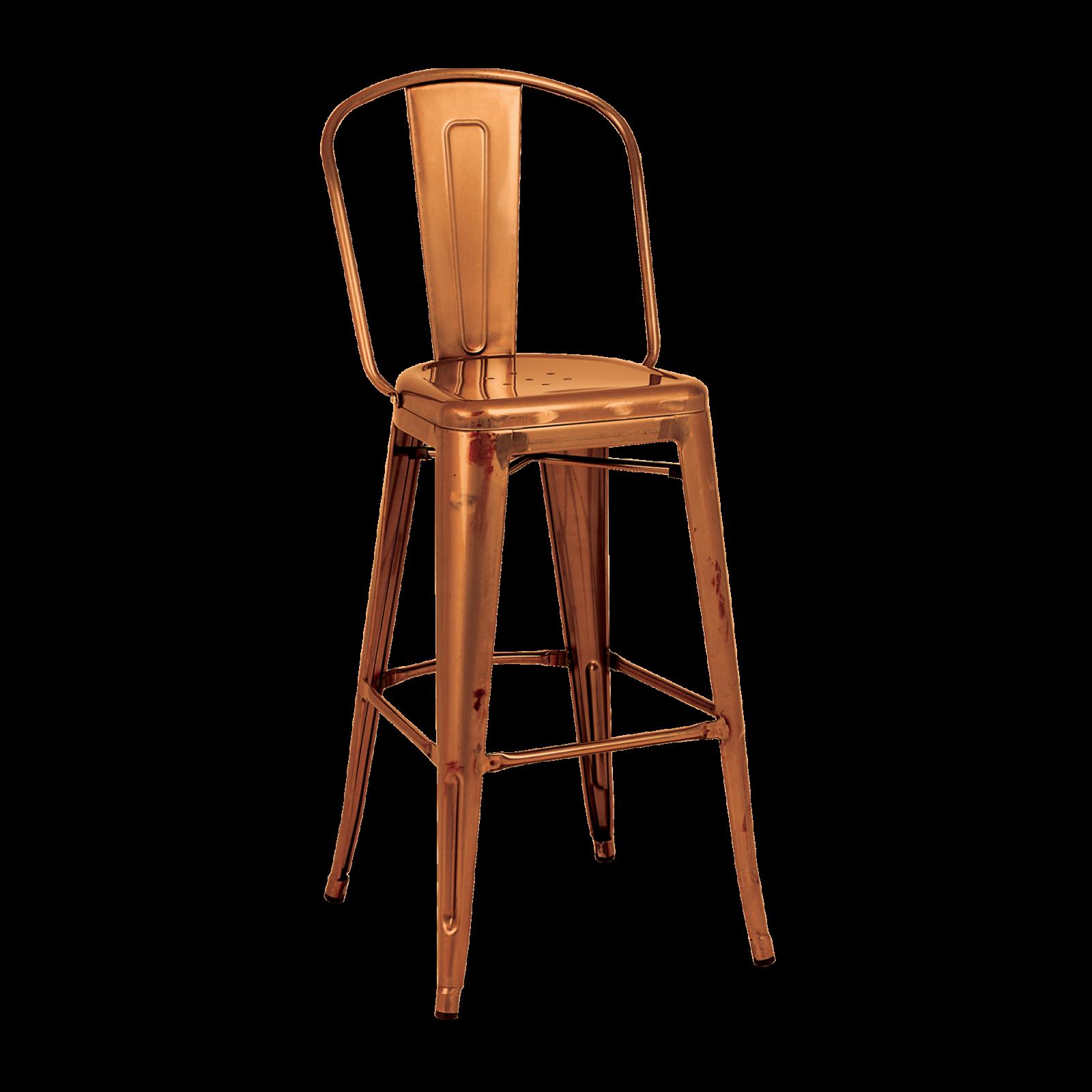 Stupendous Tolix High Back Stool Stools Dzine Furnishing Solutions Ltd Machost Co Dining Chair Design Ideas Machostcouk
